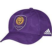 adidas Men's Orlando City Camo Structured Adjustable Hat