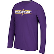 adidas Men's Orlando City Dassler Ultimate Purple Long Sleeve Shirt