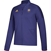 adidas Men's Orlando City Anthem Purple Jacket