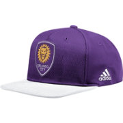 adidas Men's Orlando City Authentic Purple Snapback Adjustable Hat