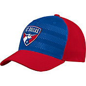 adidas Men's FC Dallas Authentic Structured Blue/Red Flexfit Hat