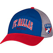 adidas Men's FC Dallas Royal/Red Mesh Back Adjustable Hat