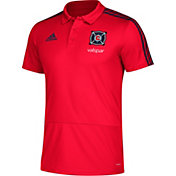 adidas Men's Chicago Fire Red Coaches Polo