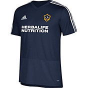 adidas Men's Los Angeles Galaxy Training Navy Performance Shirt