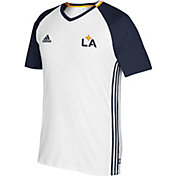 adidas Men's Los Angeles Galaxy Culture White T-Shirt