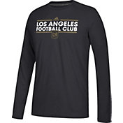 adidas Men's Los Angeles FC Dassler Ultimate Black Performance Long Sleeve Shirt
