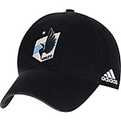 adidas Men's Minnesota United FC White Adjustable Slouch Hat