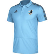 adidas Men's Minnesota United FC Blue Coaches Polo