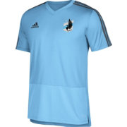 adidas Men's Minnesota United FC Training Blue Performance Shirt