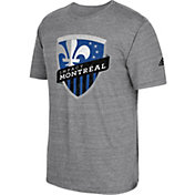 adidas Men's Montreal Impact Vintage Crest Grey T-Shirt