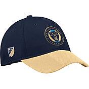 adidas Men's Philadelphia Union Authentic Slouch Navy Adjustable Hat