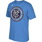 adidas Men's New York City FC Basic Logo  T-Shirt