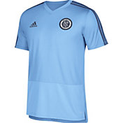 adidas Men's New York City FC Training Blue Performance Shirt