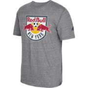 adidas Men's New York Red Bulls Vintage Crest Grey T-Shirt