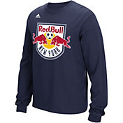 adidas Men's New York Red Bulls Long Sleeve Navy T-Shirt