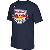 adidas Men's New York Red Bulls Basic Logo  T-Shirt
