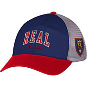 adidas Men's Real Salt Lake Navy/Red Mesh Back Adjustable Hat