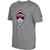 adidas Men's Colorado Rapids Vintage Crest Grey T-Shirt