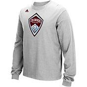 adidas Men's Colorado Rapids Long Sleeve Grey T-Shirt