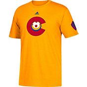 adidas Men's Colorado Rapids Yellow Jersey T-Shirt