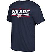 adidas Men's New England Revolution Local Saying Dassler Navy T-Shirt