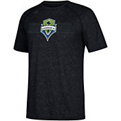 adidas Men's Seattle Sounders Authentic Ultimate Black T-Shirt