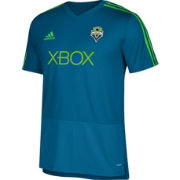 adidas Men's Seattle Sounders Training Blue Performance Shirt