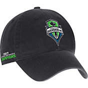 adidas Men's 2017 MLS Western Conference Champions Seattle Sounders Black Adjustable Hat