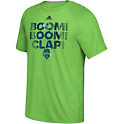 adidas Men's Seattle Sounders War Paint Green T-Shirt