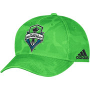 adidas Men's Seattle Sounders Camo Structured Adjustable Hat