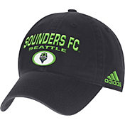 adidas Men's Seattle Sounders Navy Slouch Hat