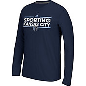 adidas Men's Sporting Kansas City Dassler Ultimate Navy Long Sleeve Shirt