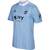 adidas Men's Sporting KC Primary Authentic Jersey