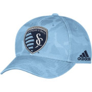 adidas Men's Sporting KC Camo Structured Adjustable Hat