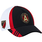 adidas Men's Atlanta United Black/White Mesh Structured Flex Hat