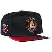 adidas Men's Atlanta United Snapback Black Adjustable Hat