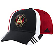 adidas Men's Atlanta United Authentic Structured Black/Red Adjustable Hat