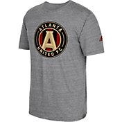 adidas Men's Atlanta United Vintage Crest Grey T-Shirt