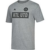 adidas Men's Atlanta United Bar None Heather Grey T-Shirt