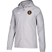 adidas Men's Atlanta United Grey Rain Jacket