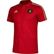 adidas Men's Atlanta United Red Coaches Polo