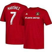adidas Men's Atlanta United Josef Martinez #7 Player Red T-Shirt