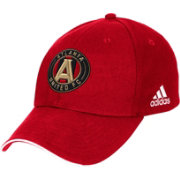 adidas Men's Atlanta United Structured Red Adjustable Hat