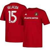 adidas Men's Atlanta United Hector Daniel Villalba #15 Player Red T-Shirt