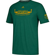 adidas Men's Portland Timbers Logo Green T-Shirt