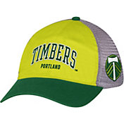 adidas Men's Portland Timbers Yellow/Green Mesh Back Adjustable Hat