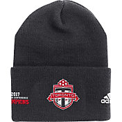 adidas Men's 2017 MLS Eastern Conference Champions Toronto FC Black Knit Beanie