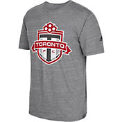 adidas Men's Toronto FC Vintage Crest Grey T-Shirt