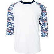 adidas Men's America ¾ Sleeve Shirt