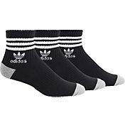 adidas Men's Originals Roller Quarter Socks 3-Pack
